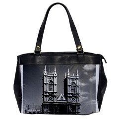 Vintage Uk England London Westminster Abbey 1970 Single Sided Oversized Handbag by Vintagephotos
