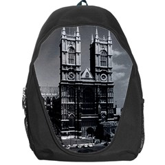 Vintage Uk England London Westminster Abbey 1970 Backpack Bag by Vintagephotos