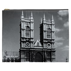 Vintage Uk England London Westminster Abbey 1970 Cosmetic Bag (xxxl) by Vintagephotos