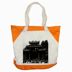Vintage China Canton Taoist Ancestral Temple 1970 Snap Tote Bag by Vintagephotos