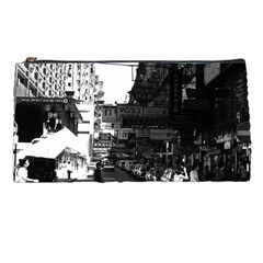Vintage China Hong Kong Street City Cars 1970 Pencil Case by Vintagephotos