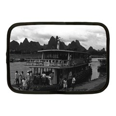 Vintage China Guilin River Boat 1970 10  Netbook Case by Vintagephotos