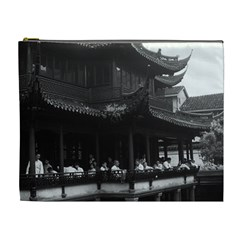 Vintage China Shanghai Yuyuan Garen Dianchun Hall 1970 Extra Large Makeup Purse by Vintagephotos