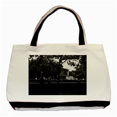 Vintage China Shanghai Yuyuan Garen Dianchun Hall 1970 Black Tote Bag by Vintagephotos