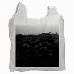 Vintage China Shanghai City 1970 Single-sided Reusable Shopping Bag by Vintagephotos