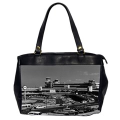 Vintage Germany Berlin The Tegel Airport 1970 Twin-sided Oversized Handbag by Vintagephotos