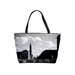 Vintage Germany Ludwigstra?e University Ludwing Church Large Shoulder Bag by Vintagephotos