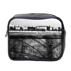 Vintage Germany Berlin Wall 1970 Twin Sided Cosmetic Case by Vintagephotos