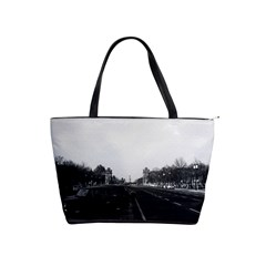 Vintage Germany Berlin The 17th June Street 1970 Large Shoulder Bag by Vintagephotos