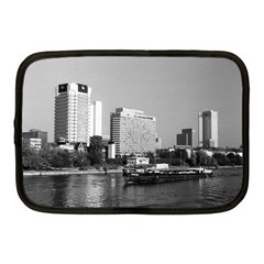 Vintage Germany Frankfurt Main River 1970 10  Netbook Case by Vintagephotos