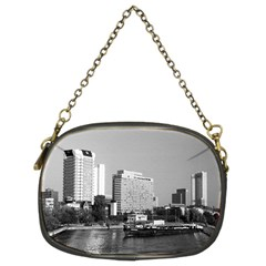 Vintage Germany Frankfurt Main River 1970 Twin Sided Evening Purse by Vintagephotos