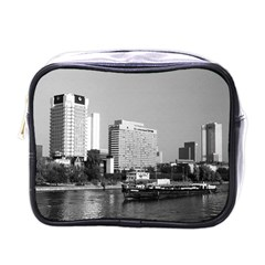 Vintage Germany Frankfurt Main River 1970 Single Sided Cosmetic Case by Vintagephotos