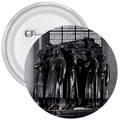 Vintage France Paris  Invalides Marshal Foch Tomb 1970 Large Button (round) by Vintagephotos