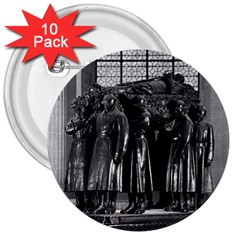 Vintage France Paris  Invalides Marshal Foch Tomb 1970 10 Pack Large Button (round) by Vintagephotos