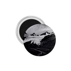 Vintage Usa Alaska Worthington Glacier In Summer 1970 Small Magnet (round) by Vintagephotos