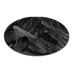 Vintage Usa  Alaska Mt Mckinley National Park 1970 Large Sticker Magnet (oval) by Vintagephotos