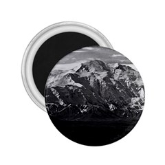 Vintage Usa Alaska Beautiful Mt Mckinley 1970 Regular Magnet (round) by Vintagephotos