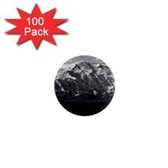 Vintage Usa Alaska Beautiful Mt Mckinley 1970 100 Pack Mini Magnet (round) by Vintagephotos