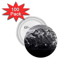 Vintage Usa Alaska Beautiful Mt Mckinley 1970 100 Pack Small Button (round) by Vintagephotos