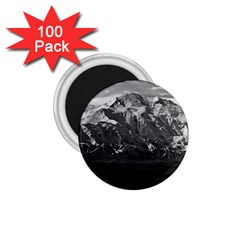Vintage Usa Alaska Beautiful Mt Mckinley 1970 100 Pack Small Magnet (round) by Vintagephotos