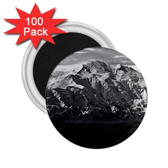Vintage Usa Alaska Beautiful Mt Mckinley 1970 100 Pack Regular Magnet (round) by Vintagephotos