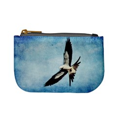 Swallow Tailed Kite Coin Change Purse by heathergreen
