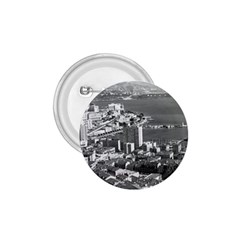 Vintage Principality Of Monaco  The Port Of Monte Carlo Small Button (round) by Vintagephotos