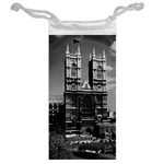 Vintage UK England London Westminster Abbey 1970 Glasses Pouch Back