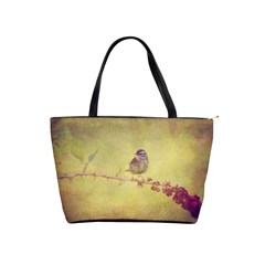 Palm Warbler Large Shoulder Bag by heathergreen