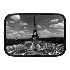 Vintage France Paris Fontain Chaillot Tour Eiffel 1970 10  Netbook Case by Vintagephotos