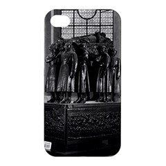 Vintage France Paris  Invalides Marshal Foch Tomb 1970 Apple Iphone 4/4s Hardshell Case by Vintagephotos