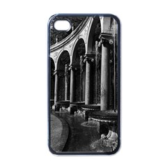 Vintage France Palace Of Versailles Colonnade Grove Black Apple Iphone 4 Case by Vintagephotos