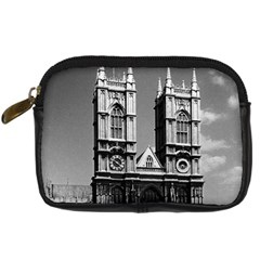 Vintage Uk England London Westminster Abbey 1970 Compact Camera Case by Vintagephotos