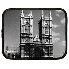 Vintage Uk England London Westminster Abbey 1970 13  Netbook Case by Vintagephotos