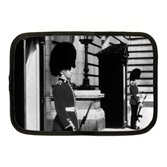 Vintage Uk England London Sentry At Buckingham Palace 10  Netbook Case by Vintagephotos