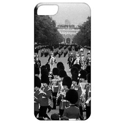 Vintage Uk England The Guards Returning Along The Mall Apple Iphone 5 Classic Hardshell Case by Vintagephotos