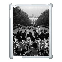 Vintage Uk England The Guards Returning Along The Mall Apple Ipad 3/4 Case (white) by Vintagephotos