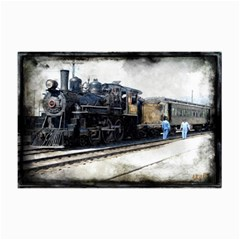 The Steam Train 20  X 30  Unframed Canvas Print by AkaBArt