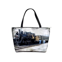 The Steam Train Large Shoulder Bag by AkaBArt