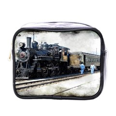 The Steam Train Single Sided Cosmetic Case by AkaBArt