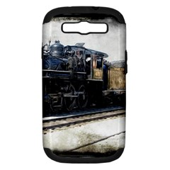 The Steam Train Samsung Galaxy S Iii Hardshell Case (pc+silicone) by AkaBArt