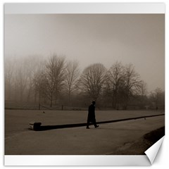 Foggy Morning, Oxford 20  X 20  Unframed Canvas Print