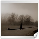 Foggy morning, Oxford 20  x 20  Unframed Canvas Print 20 x20 Canvas - 1