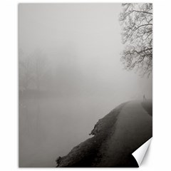 Foggy Morning, Oxford 11  X 14  Unframed Canvas Print by artposters