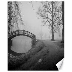Foggy Morning, Oxford 16  X 20  Unframed Canvas Print by artposters