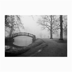Foggy Morning, Oxford 20  X 30  Unframed Canvas Print by artposters