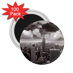 New York, Usa 100 Pack Regular Magnet (round) by artposters
