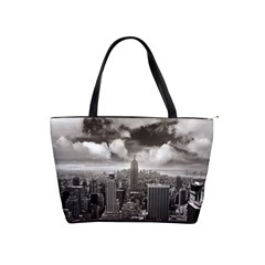 New York, Usa Large Shoulder Bag by artposters