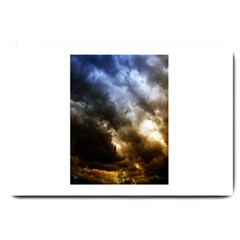 Cloudscape Large Door Mat by artposters