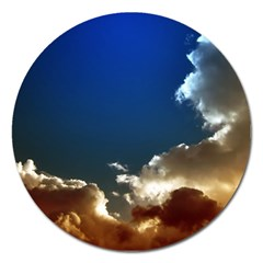 Cloudscape Extra Large Sticker Magnet (round) by artposters